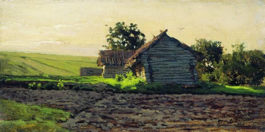 Саввинская слобода. 1884