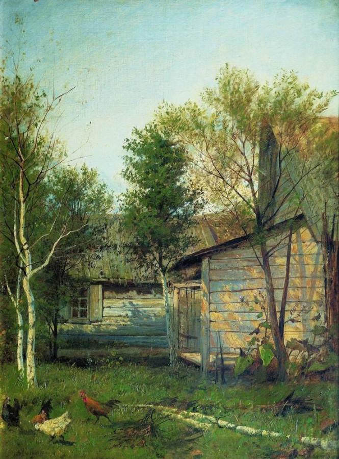 Солнечный день. Весна. 1876-1877