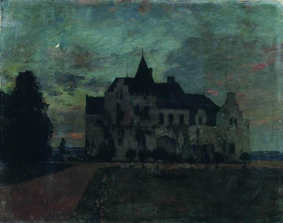 Сумерки. Замок. 1898