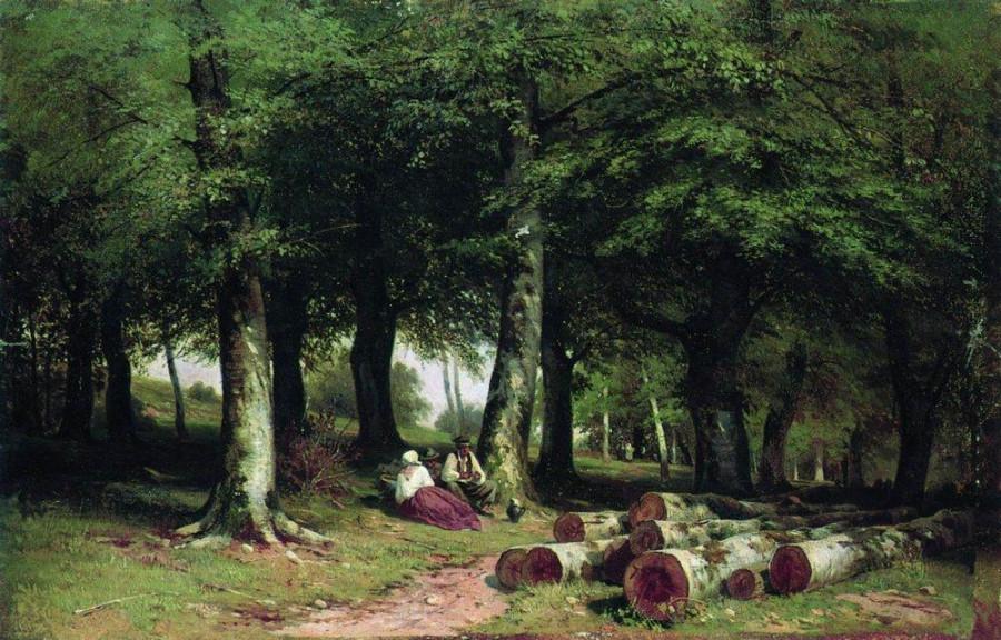 В роще. 1869.jpg