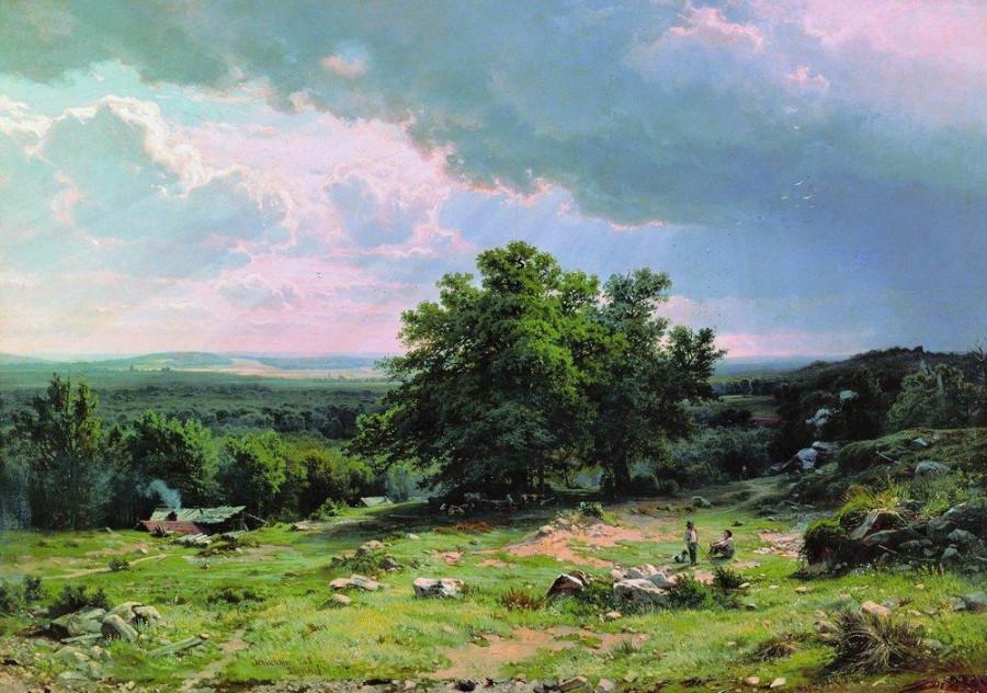 Вид в окрестностях Дюссельдорфа. 1865.jpg