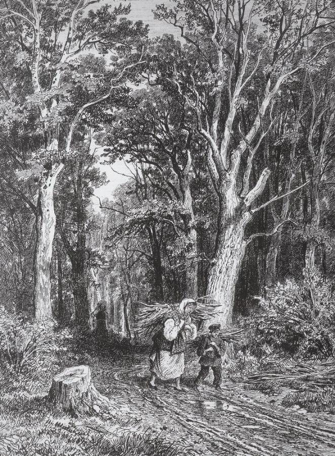 Дорога в лесу. 1869.jpg