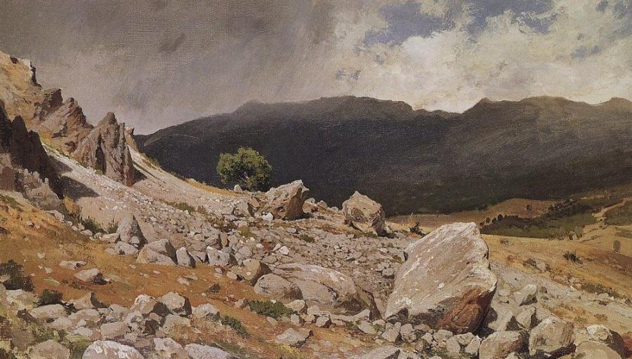 Из окрестностей Гурзуфа. 1879.jpg