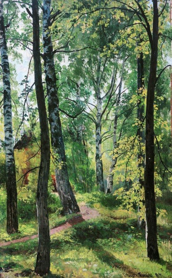 Лиственный лес. 1897.jpg