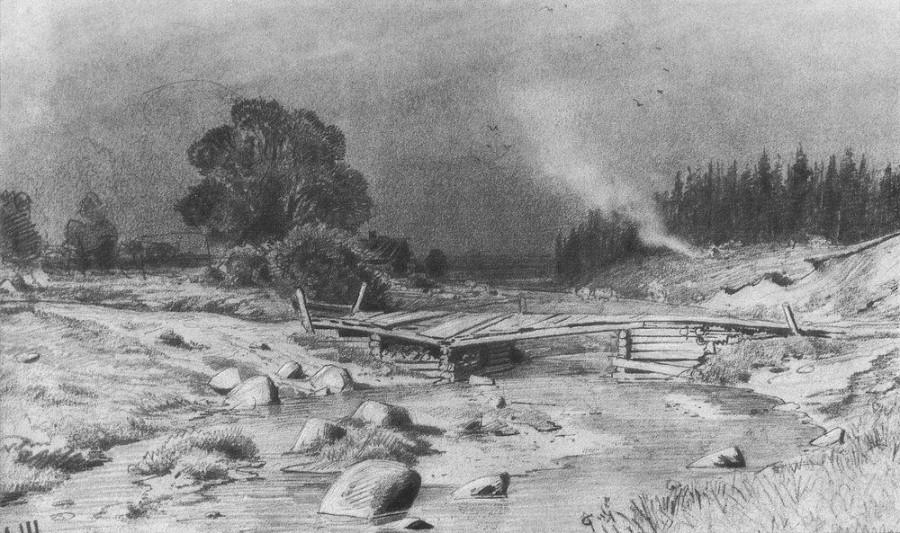 Мост через речку. 1870-е.jpg