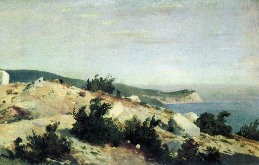 Мыс Ай-Тодор. Крым. 1879.jpg