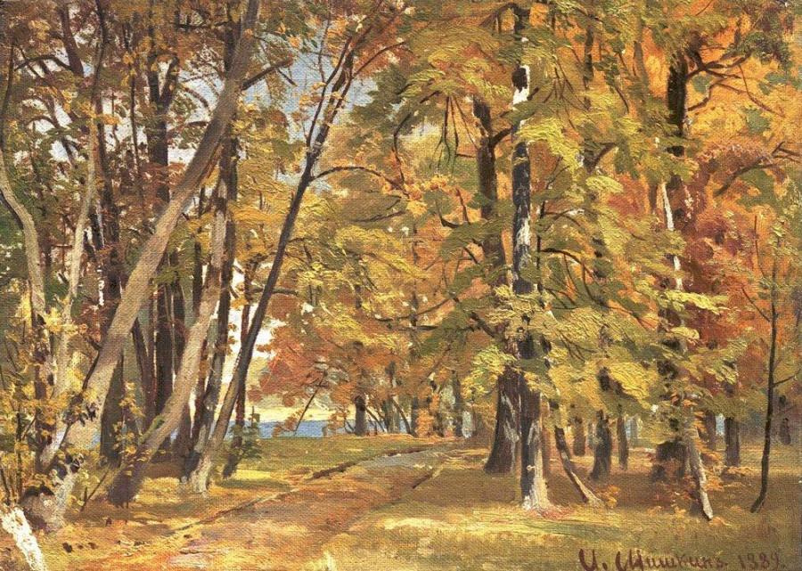 Ранняя осень. 1889.jpg
