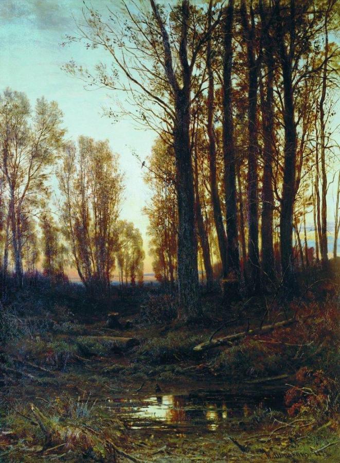 Сумерки. Заход солнца. 1879.jpg