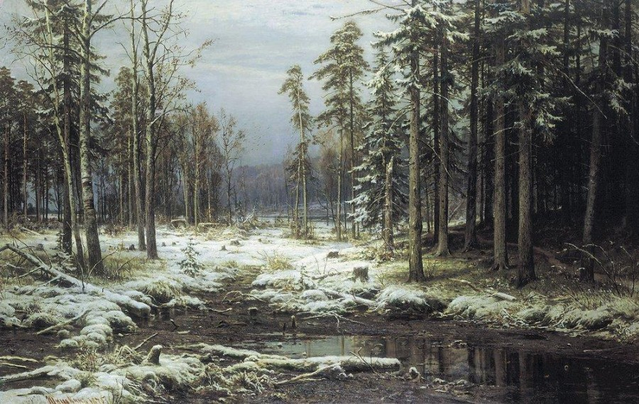3 Первый снег. 1875
