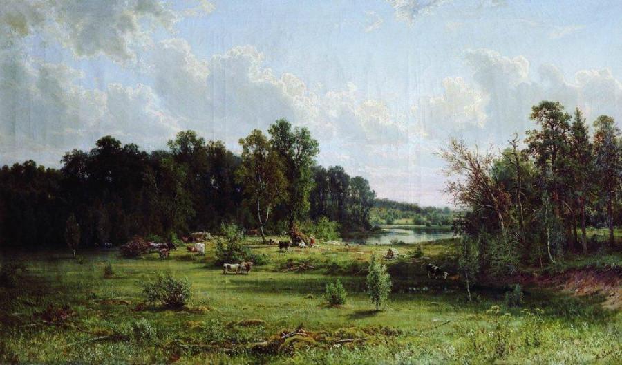 3 Перелесок (Полдень). 1872