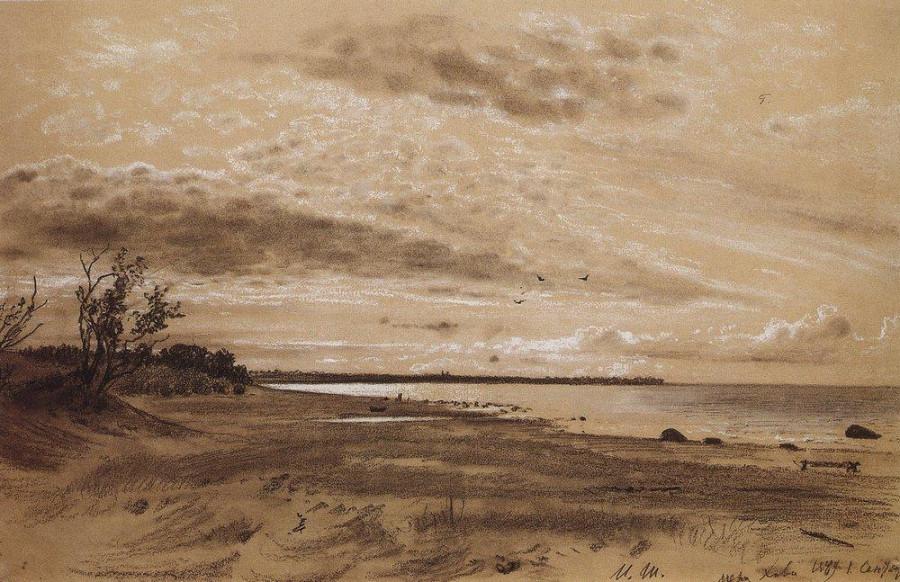 Берег моря. Мери-Хови. 1889