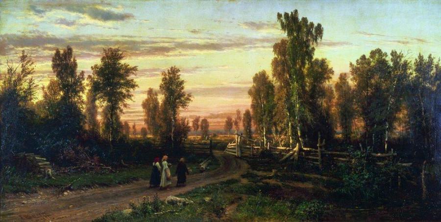Вечер. 1871