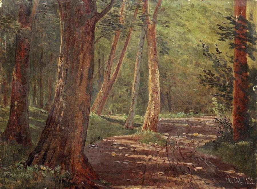 Лесная дорожка. 1892