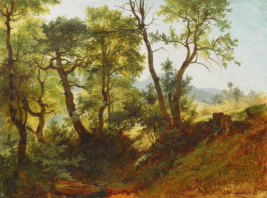 Опушка леса. 1866