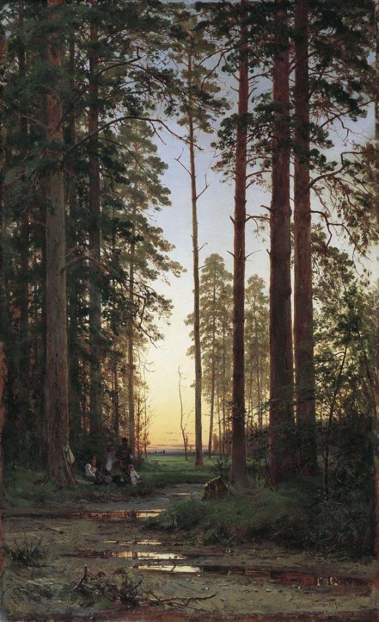 Опушка леса. 1879