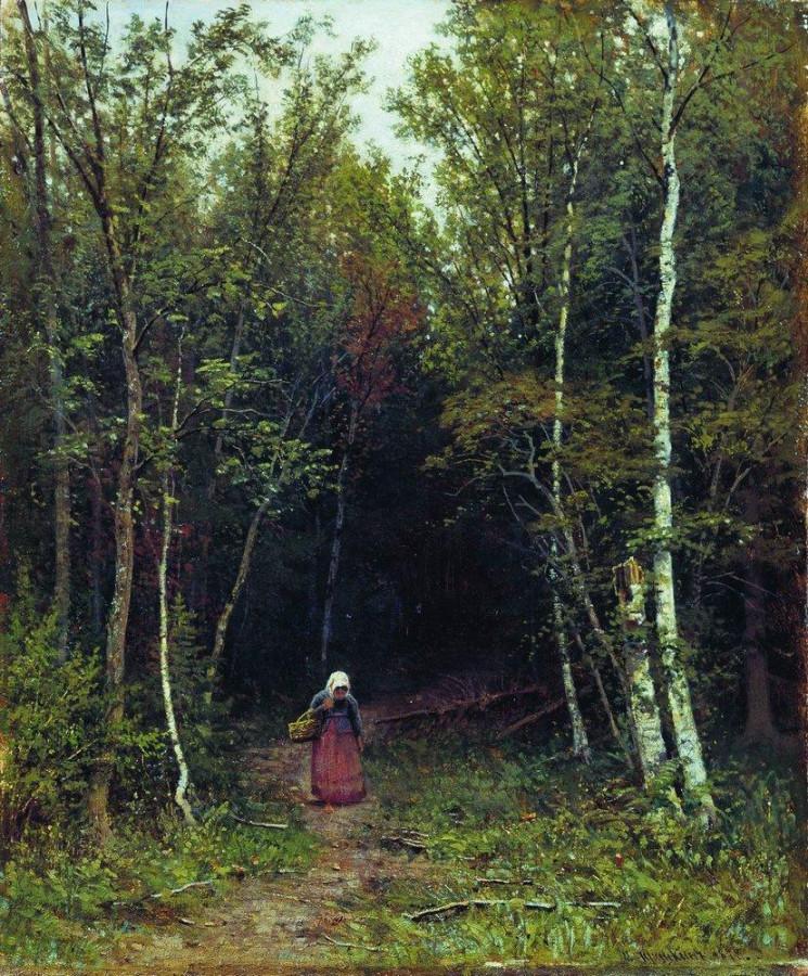 Пейзаж с фигурой. 1872