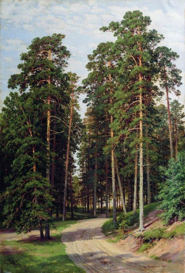 Солнце в лесу. 1895