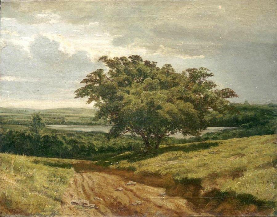 У дороги. 1874