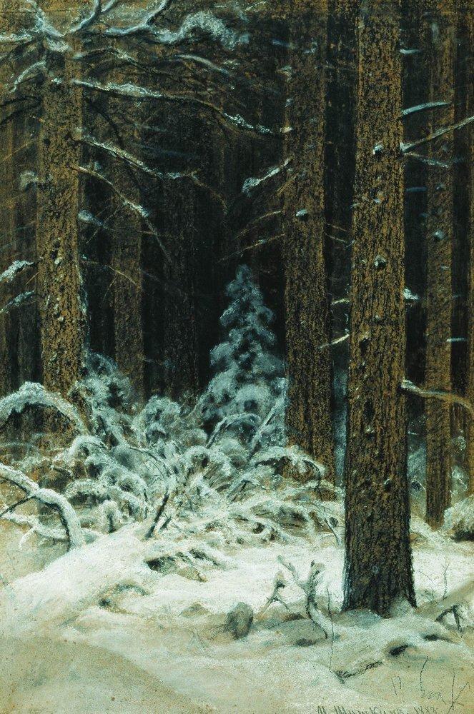 Зимой. 1883