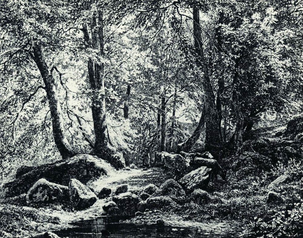 Крестьянка с коровами. 1873