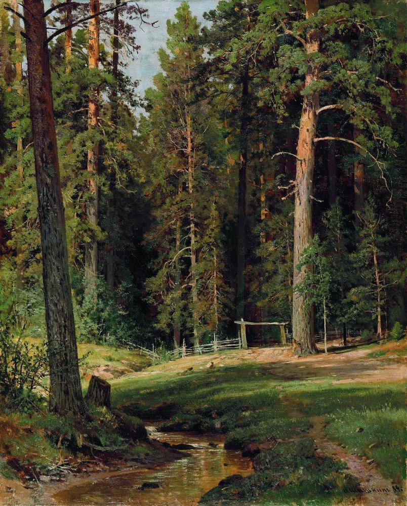 Опушка леса. 1884