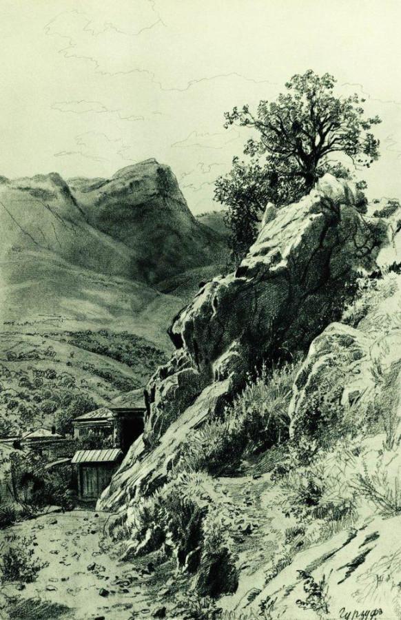 В горах Гурзуфа. 1879
