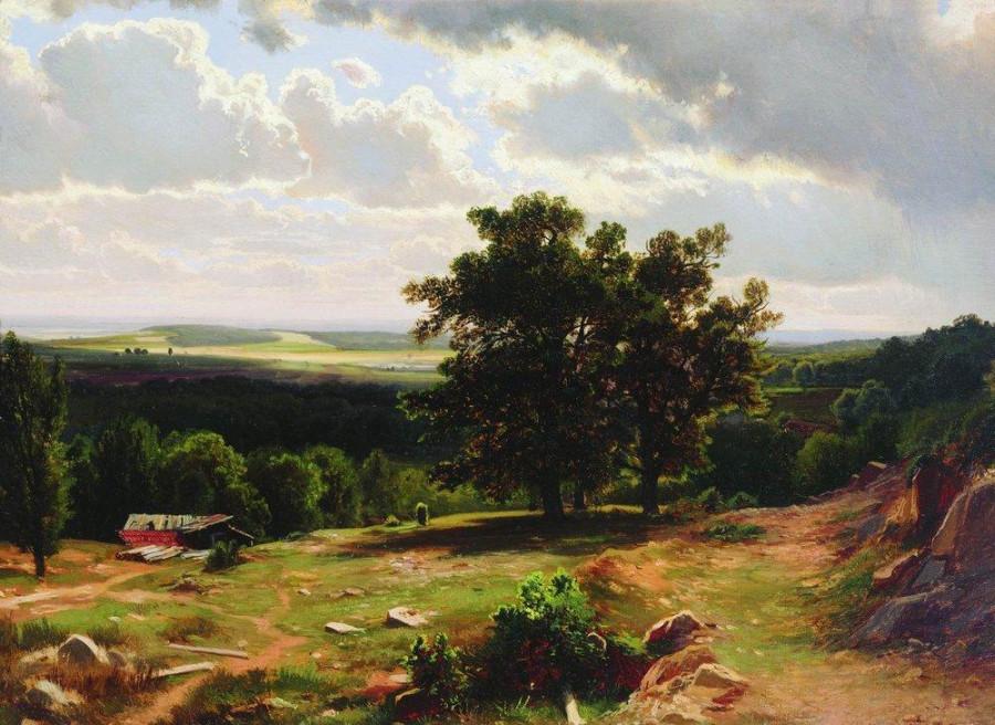 В окрестностях Дюссельдорфа. 1864-1865