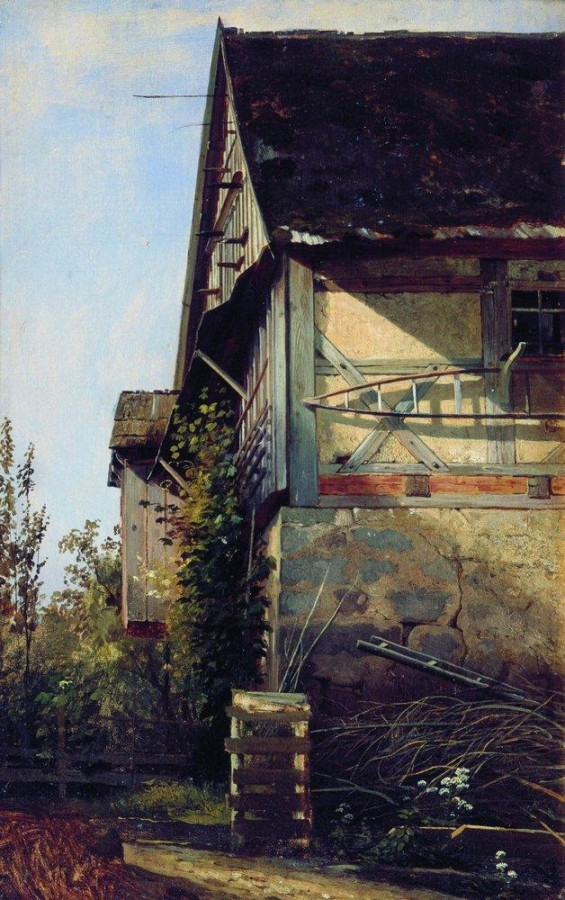 Домик в Дюссельдорфе. 1856