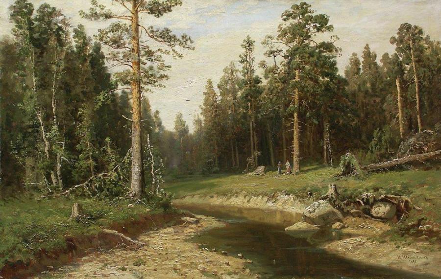 Корабельный лес. 1891