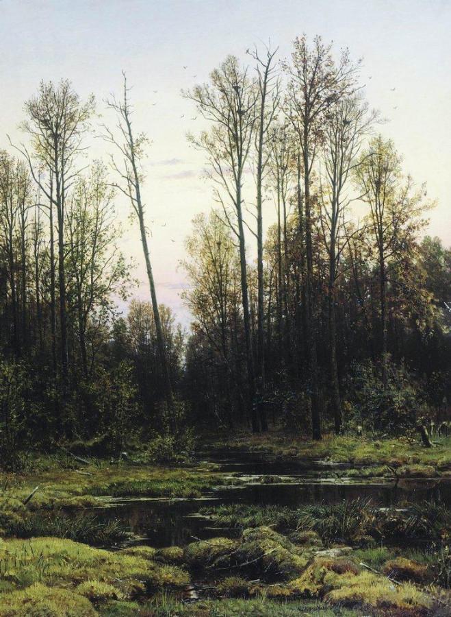 Лес весной. 1884