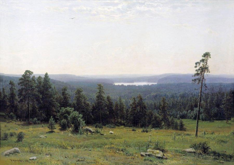 Лесные дали. 1884