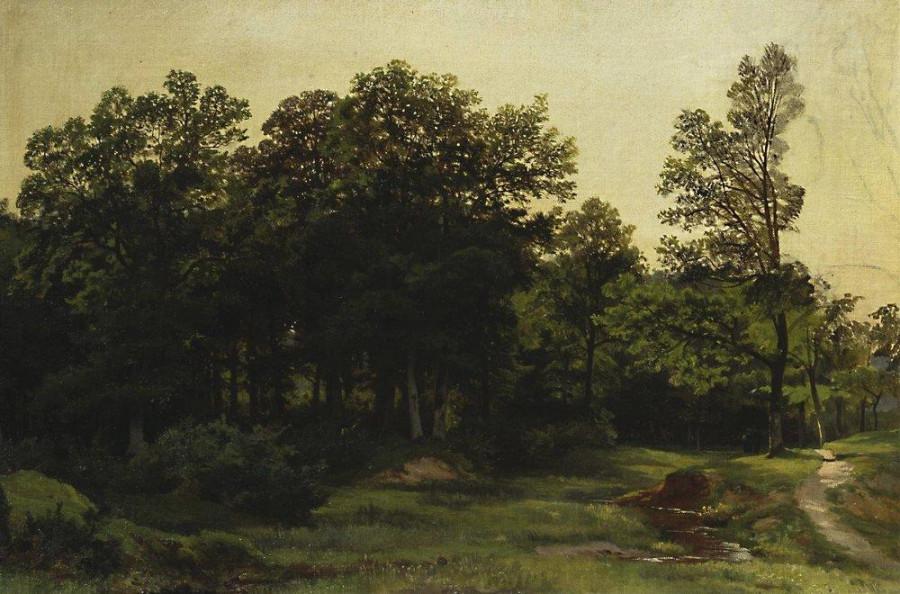 Лиственный лес. 1890-е
