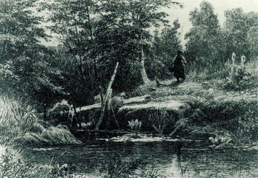 Мостик. 1873