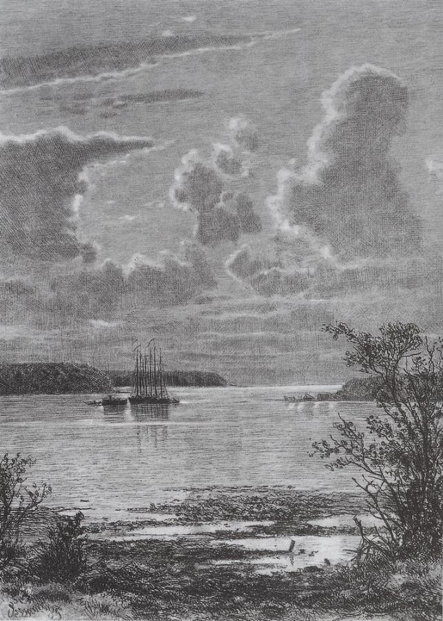 На малой Невке. 1886
