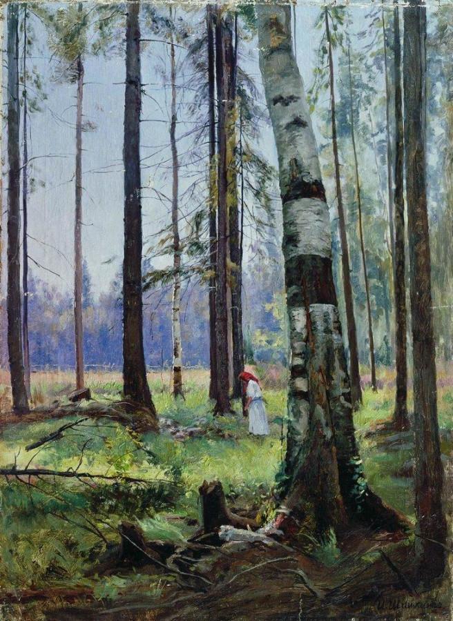 Опушка леса. 1870-е