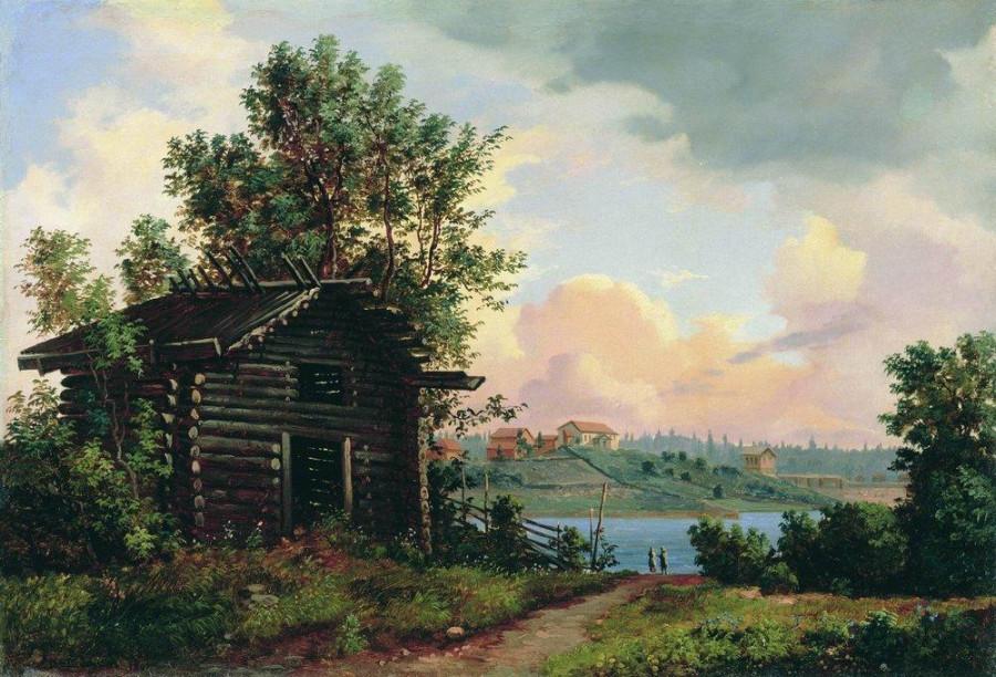 Пейзаж. 1861