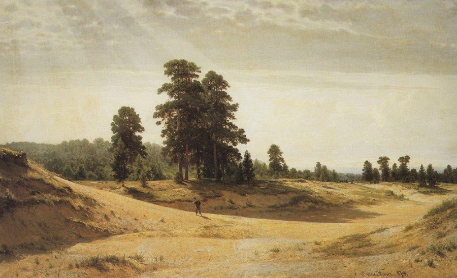 Пески. 1887