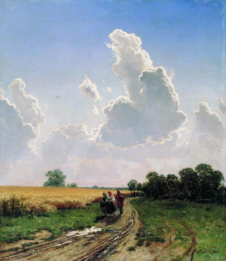 Полдень. Окрестности Москвы. Братцево. 1866