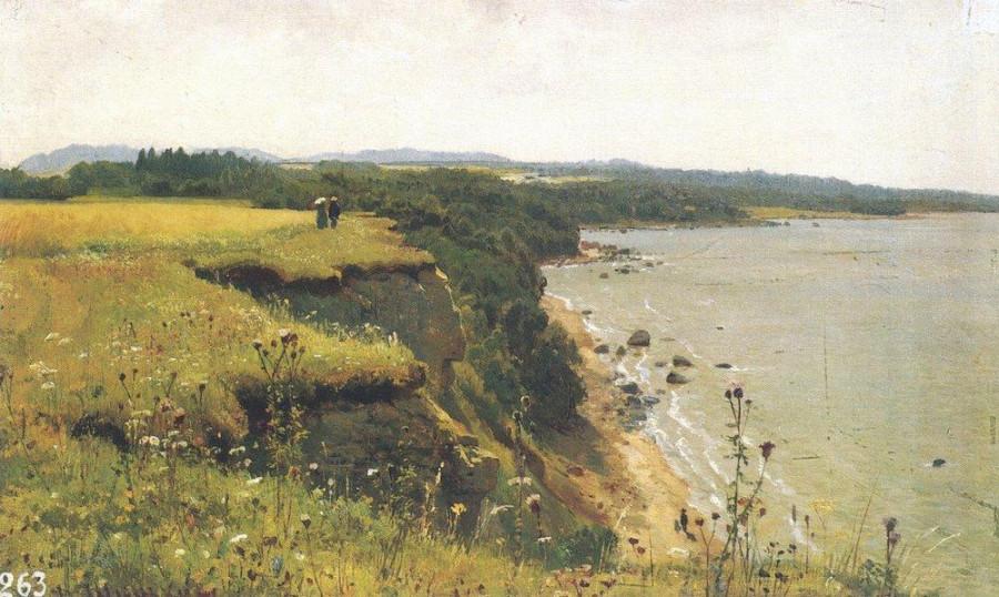У берегов Финского залива (Удриас близ Нарвы)2. 1888