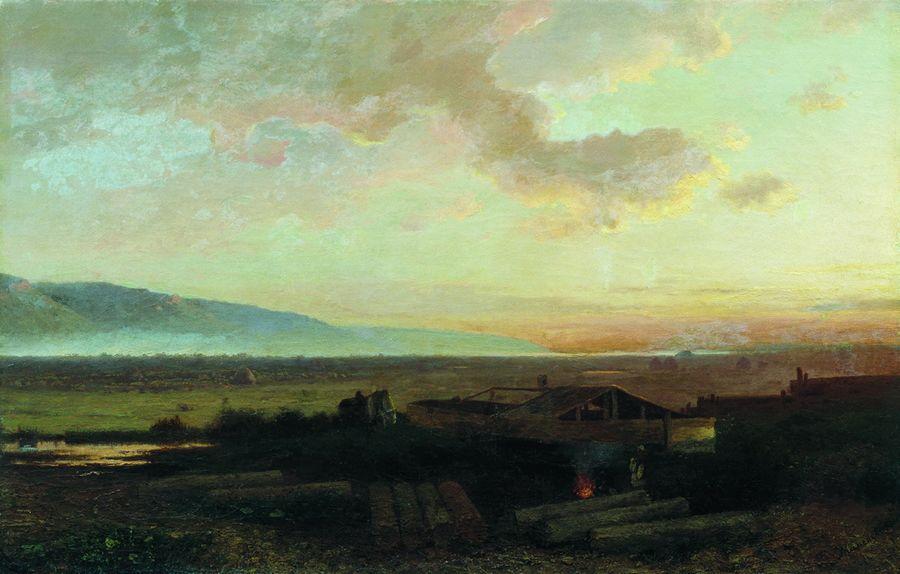 Закат. 1867