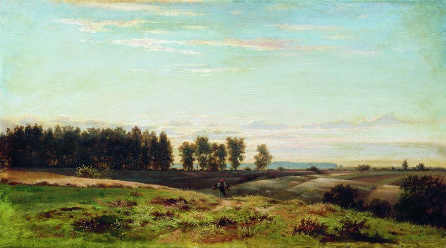 К вечеру. 1867