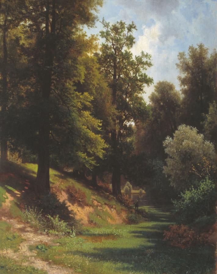 Лес. 1874