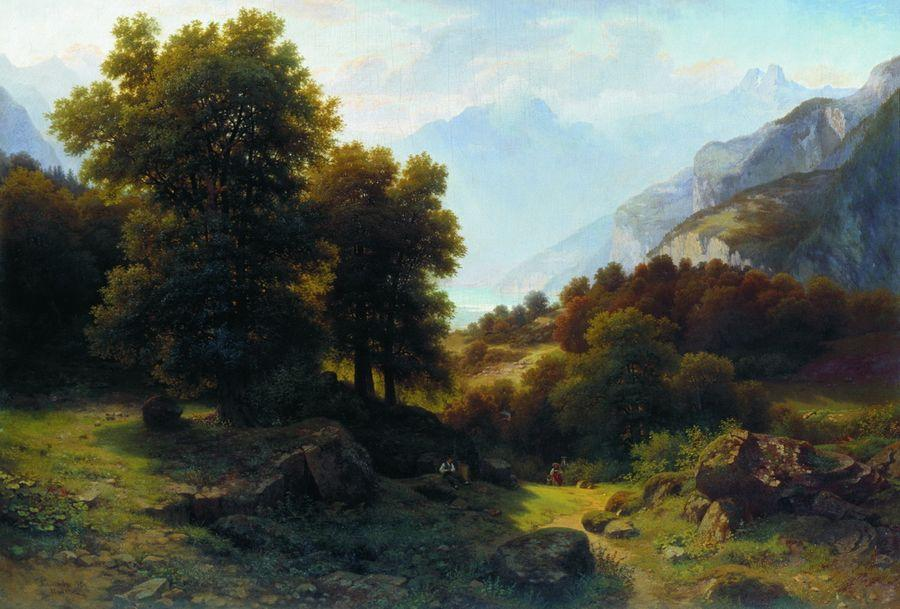 Пейзаж. 1864