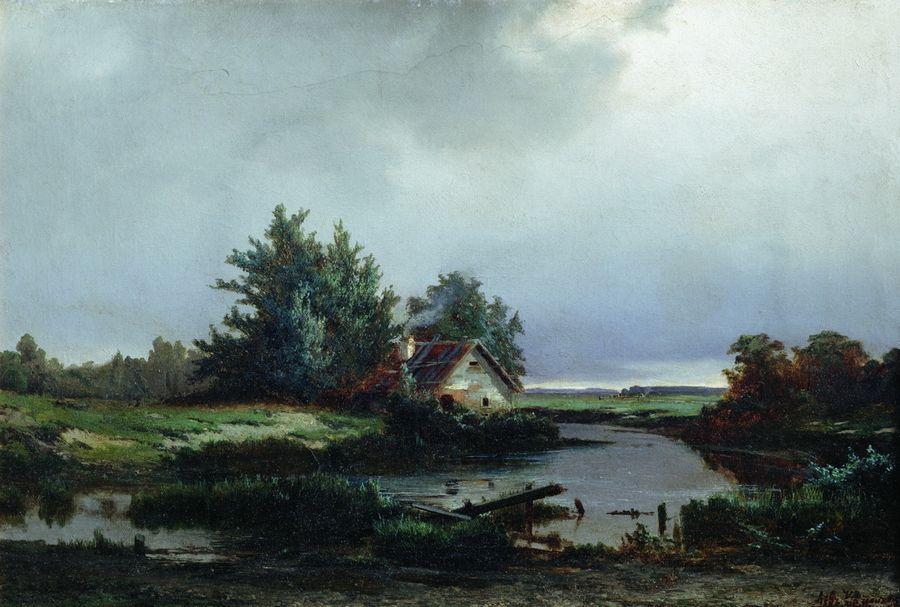 Перед грозой. 1869