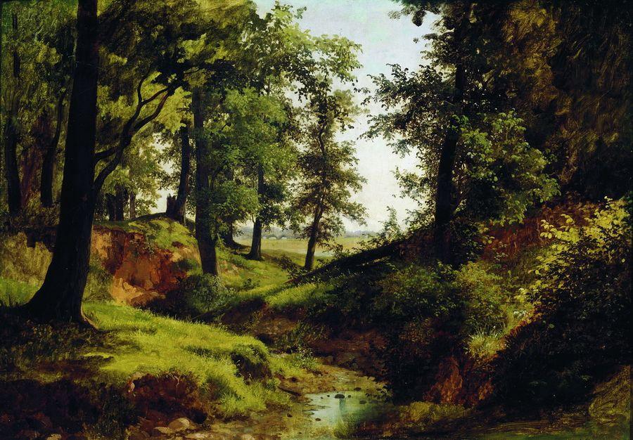 Ручей. 1884