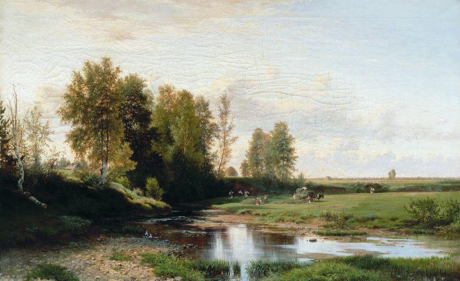 Сенокос. 1866