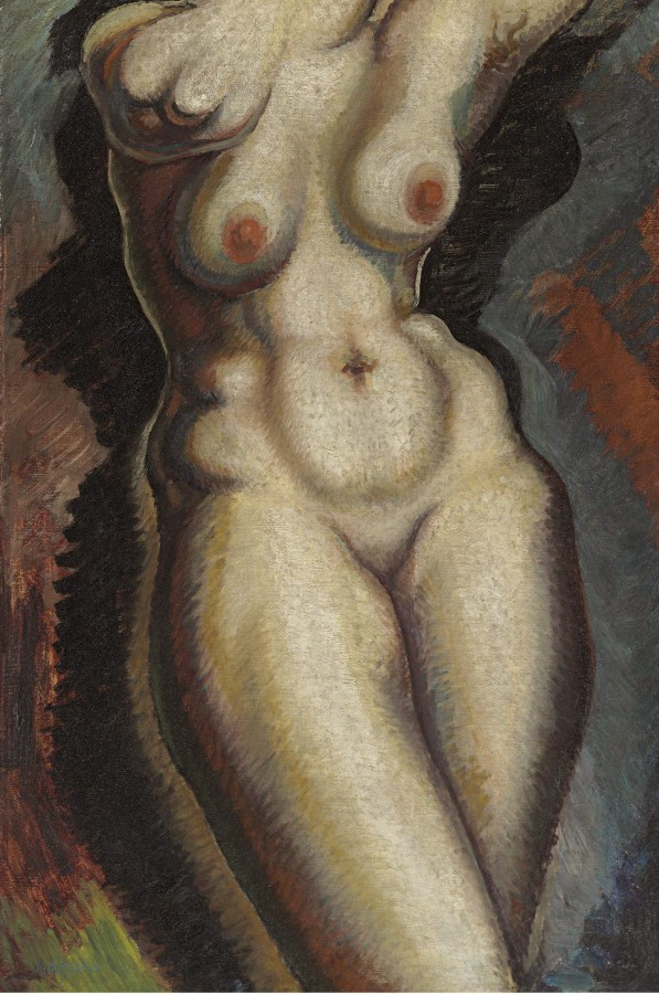 Архипенко Александр Порфирьевич, 1887-1964. Торс. 76.2 x 51.1 см. масло, холст. Частная коллекция