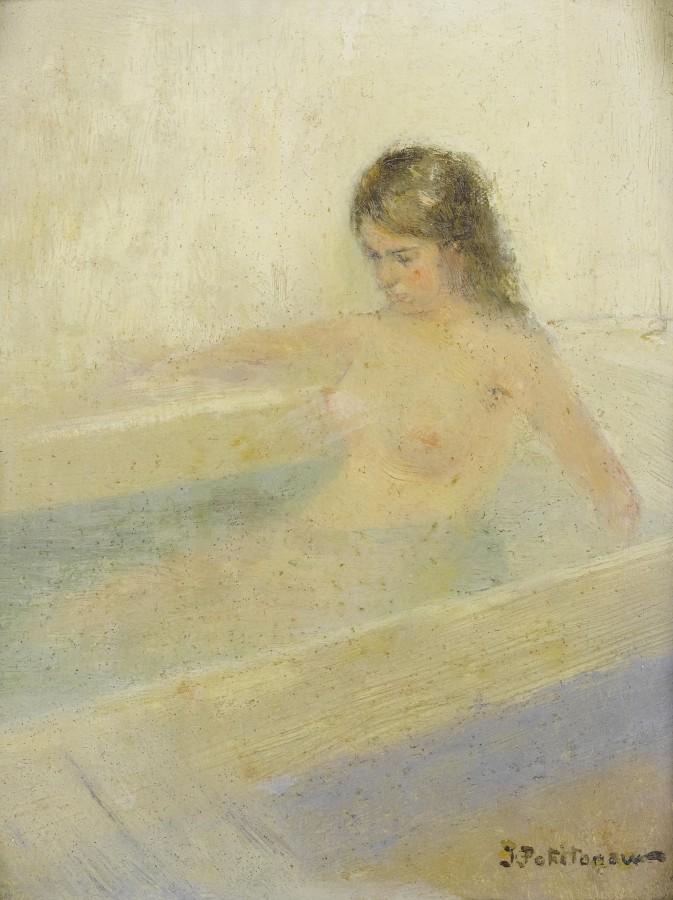 Похитонов Иван Павлович, 1850-1923. Воображаемая купальщица. Частная коллекция