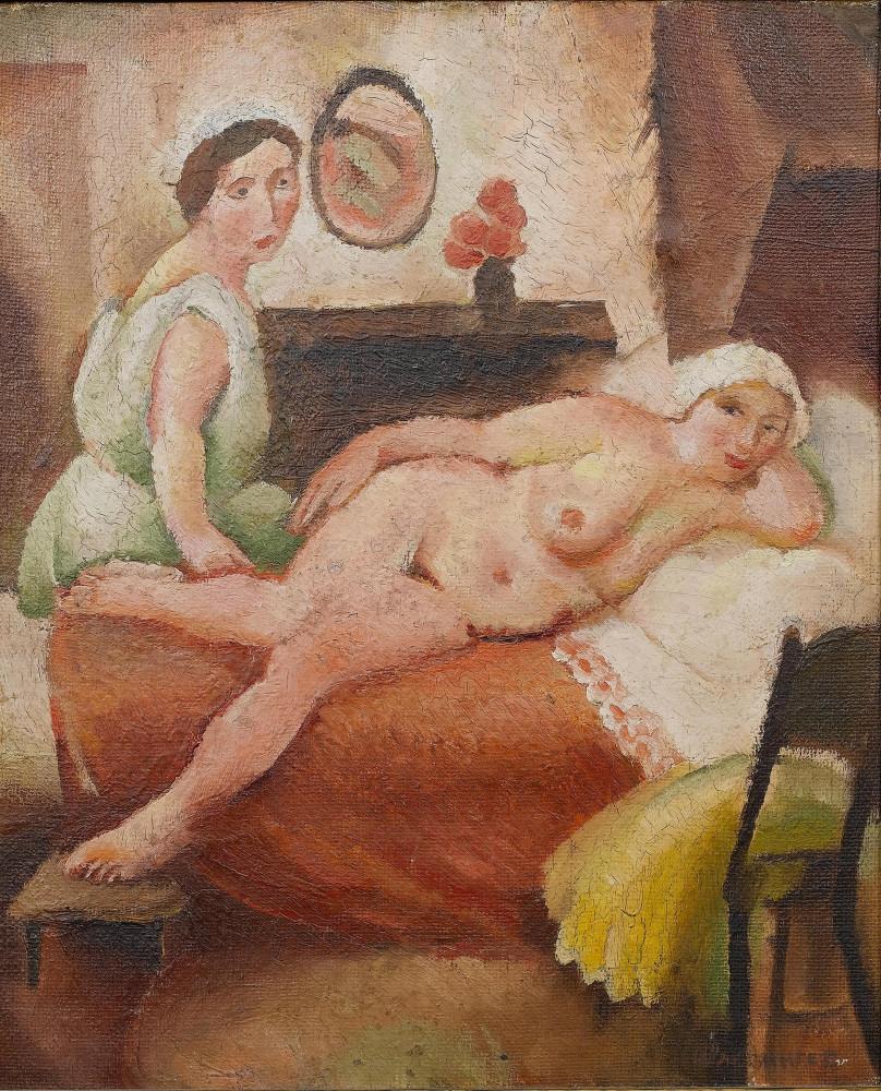 Рохлина Вера Николаевна, 1896-1934. Подруга из Тбилиси. Частная коллекция
