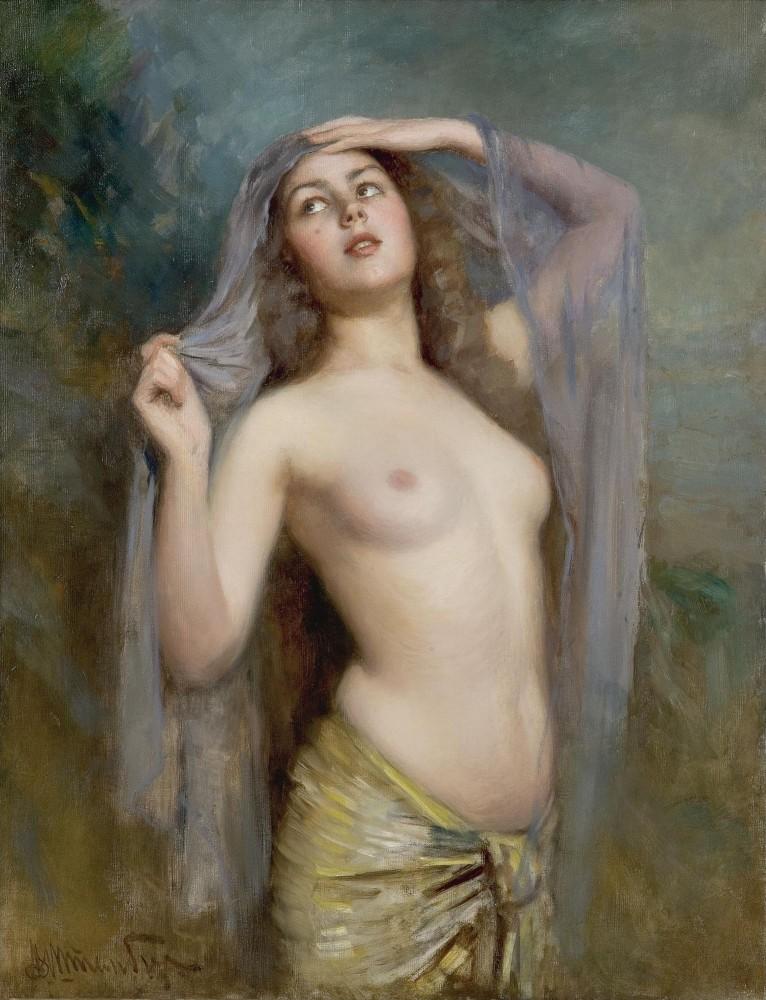Штемберг, Виктор Карлович, 1863-1917. Утро. 103 х 80 см. Частная коллекция